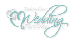 Destination Weddings Logo Green-White