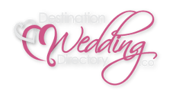 Destination Weddings Logo Pink