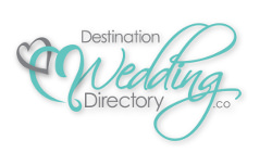 Destination Weddings Logo White