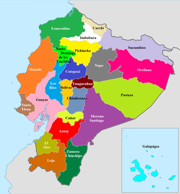 Provinces-of-Ecuador