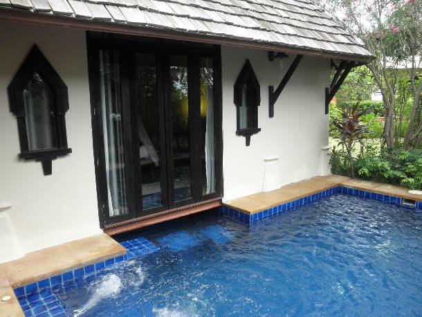 Diamond villa with private plunge pool