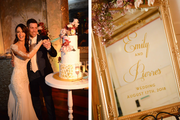 Real Weddings Melbourne: Emily Simms & Pierre Ghougassian's Real Wedding In