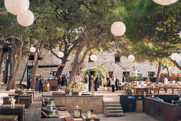 fort george croatia wedding 12