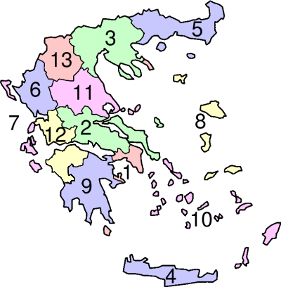 Regions-of-Greece