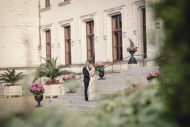 château-de-challain-bride-groom-outside-6