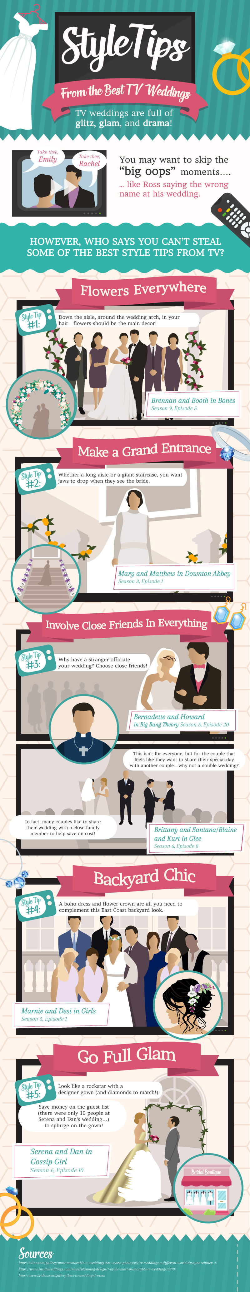 TV Wedding Style Tips