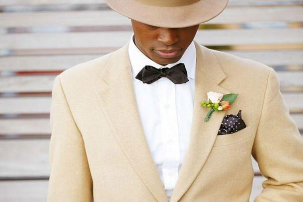 cool summer wedding tux