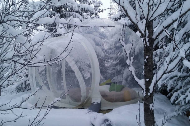 icelandic bubble hotel