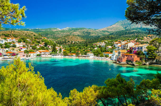 kefalonia honeymoon