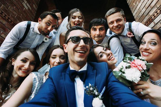 social media wedding guide