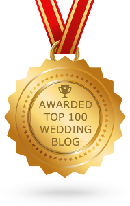 top 100 wedding blog