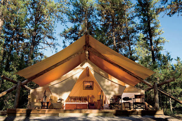 usa glamping wedding