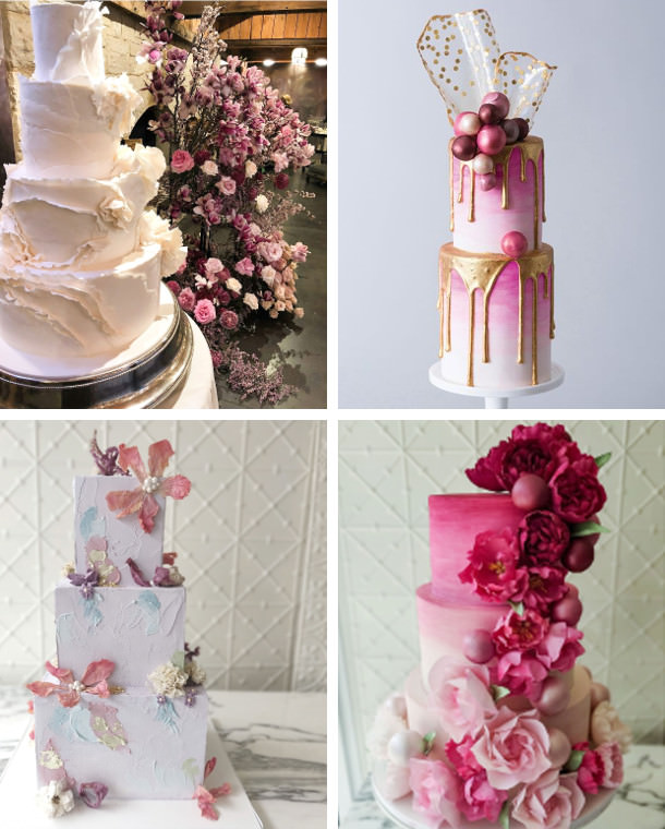 wedding cakes 2019